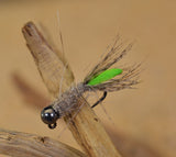 Tungsten Peeping Caddis Jig Fly