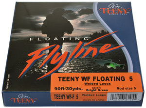 Jim Teeny Fly Line WF Floating 5WT Package