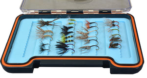 Tenkara Fly Pro Assortment - 26 Count with Silicon Fly Box