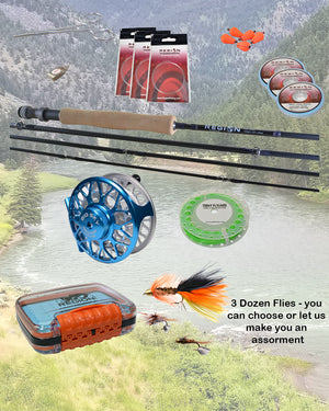 Rod and Reel Package - Just Add Water