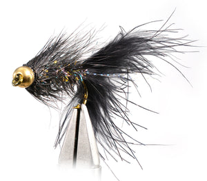 Bead Head Crystal Woolly Bugger Fly