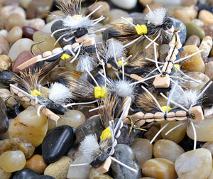 Foam Hopper Yellow and Tan Dry Fly