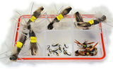 Hopper Dropper Fly Fishing Assortment - 30 Flies