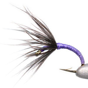Purple Kebari Tenkara Fly