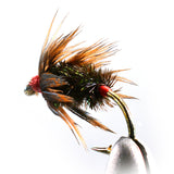 Peacock and Pheasant Kebari Tenkara Fly