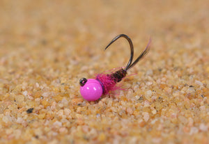 Bubble Gum Frenchie Jig Fly