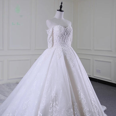 Beautiful Wedding Gown Customizable (Specialty Item)