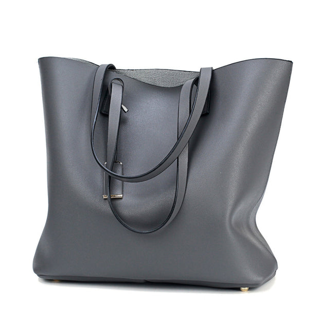 3 Pcs/Set Leather Women Bag High Quality