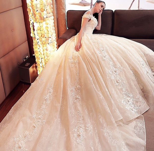 Elegant Bridal Gown