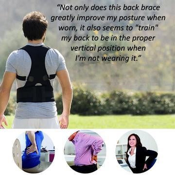 Adjustable Posture Corrector Device testimonial Adjustable Posture Corrector Device Posture Medic™ - Posture Corrector Training Device With Magnetic Therapy | Restores & Improves Posture (50% off) by trustedgadgetstore.com. Restore natural posture and reduce back pain