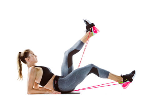 Display of Woman performing exercises with Booty Resistance Band Waist Belt - Trusted Gadget Store - Booty Belt | Highly Reviewed Products that solve real problems. https://Trustedgadgetstore.com