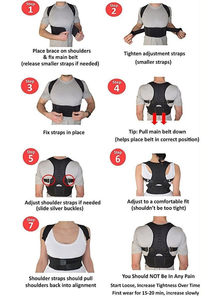 ADJUSTABLE MAGNETIC THERAPY POSTURE CORRECTOR DEVICEAdjustable Posture Corrector Device Posture Medic™ - Posture Corrector Training Device With Magnetic Therapy | Restores & Improves Posture (50% off) by trustedgadgetstore.com. Restore natural posture and reduce back pain
