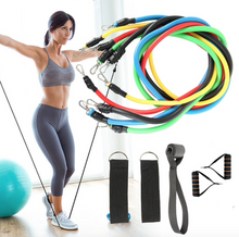 Load image into Gallery viewer, Display of USA Exercise Resistance Bands Fitness Kit for Women (11pc band set) - Trusted Gadget Store - Resistance Band | Highly Reviewed Products that solve real problems. https://Trustedgadgetstore.com