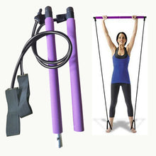 Load image into Gallery viewer, Display of Multifunctional Pilates Bar Kit with Resistance Bands - Trusted Gadget Store - Yoga Pilates Bar | Highly Reviewed Products that solve real problems. https://Trustedgadgetstore.com