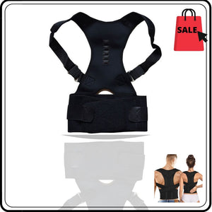 Display of United States / Black / M Ez Spine Guard - Adjustable Posture Corrector - Trusted Gadget Store - Posture Corrector | Highly Reviewed Products that solve real problems. https://Trustedgadgetstore.com