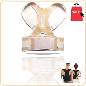 Display of United States / Nude / M Ez Spine Guard - Adjustable Posture Corrector - Trusted Gadget Store - Posture Corrector | Highly Reviewed Products that solve real problems. https://Trustedgadgetstore.com