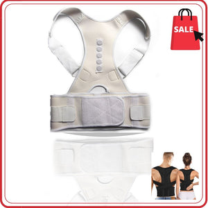 Display of United States / White / M Ez Spine Guard - Adjustable Posture Corrector - Trusted Gadget Store - Posture Corrector | Highly Reviewed Products that solve real problems. https://Trustedgadgetstore.com