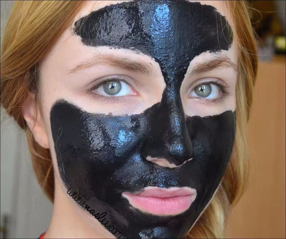 Best Reviewed Active Charcoal Mask & Face Purifier - Clears Pores And Removes Blackheads