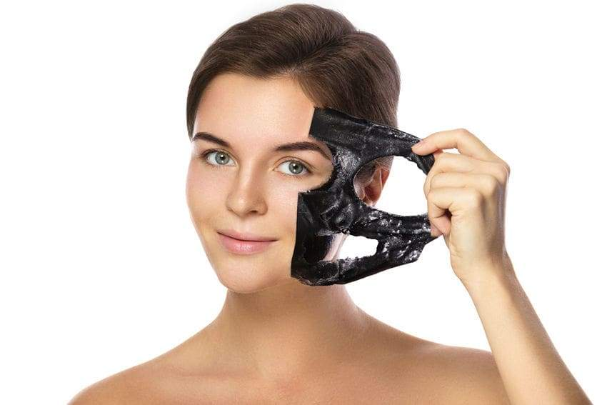Black Charcoal Mask and Face Purifier, Acne, Blackhead Remover