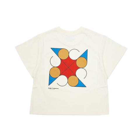 FIVE-O KIDS TEE Beige