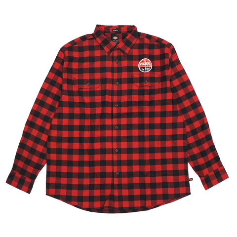 LS Flannel Buffalo Check Shirt