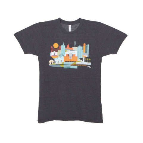 Andrew Holder Cityspace T-shirt