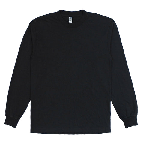 6.5oz Long Sleeve Garment Dye Crew
