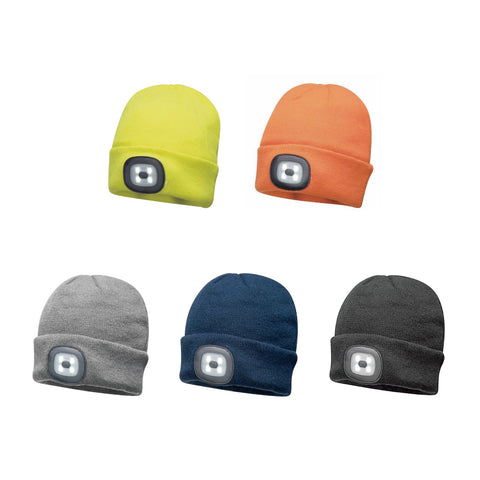 Rechargable LED Beanie