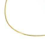 18KGP Snake Chain Necklace Gold
