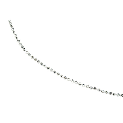Cut Ball Chain Necklace