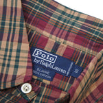 "90's Polo Ralph Lauren ""BLAIRE"" Check Long Sleeve BD Shirt"