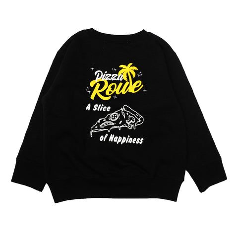 【キッズ】PIZZA ROUTE  Logo Kids Crewneck 100-130cm