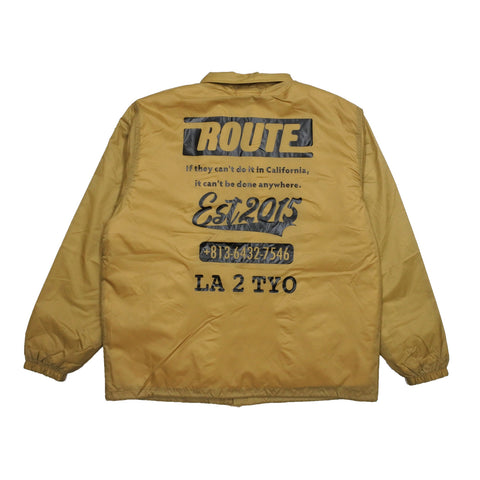 ROUTE Original Logo Coach Jacket