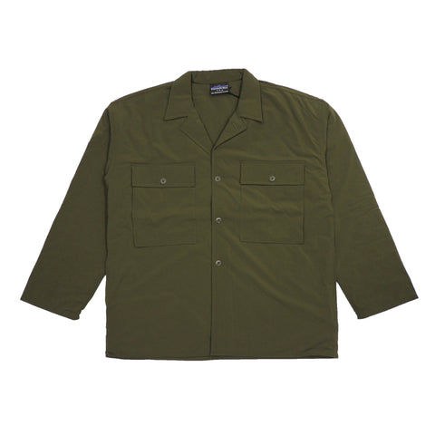 【30%OFF】Padding Shirts Jacket Olive