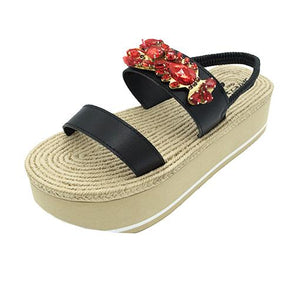 Lobster - Waterproof Espadrille Platform