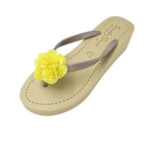 Noho Yellow - Women's Mid Wedge