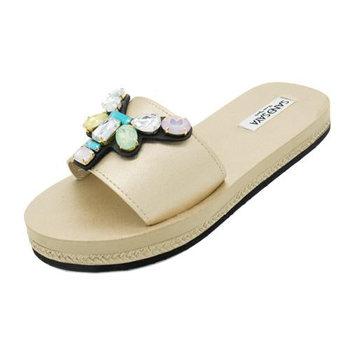 Dumbo - Waterproof Espadrille Flat