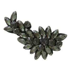 Manhattan (Black) - Brooch