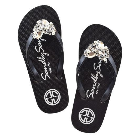 Chelsea Heart (Crystal) - Big Kids Sandals