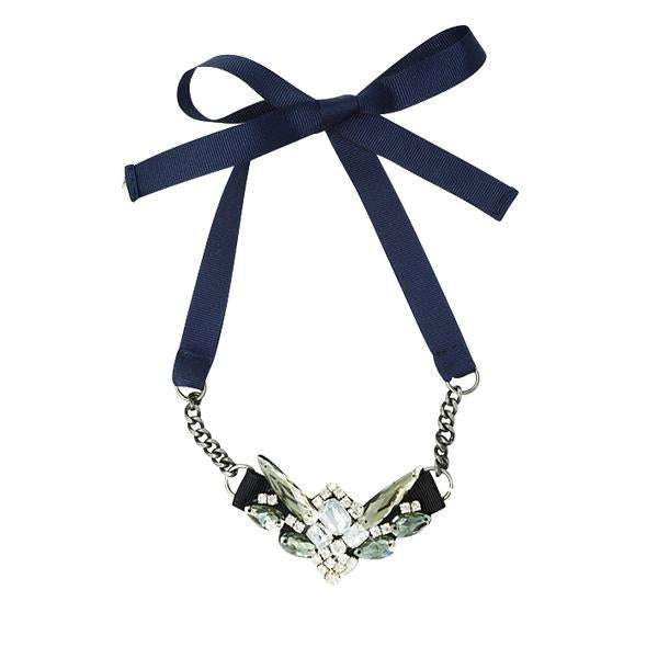 Downtown- Ribbon Necklace