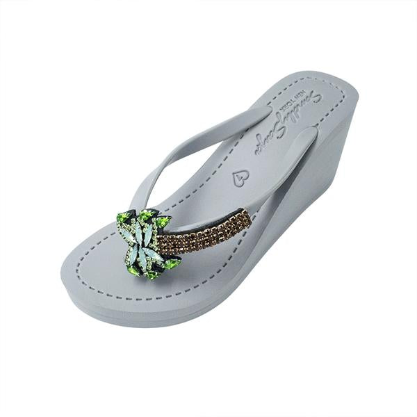 Palm Tree Ex - Women's High Wedge