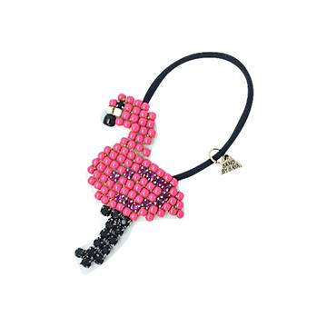 Flamingo- Hair Tie