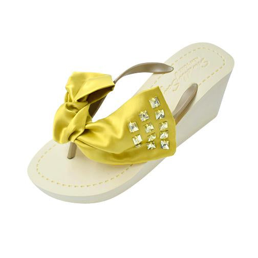 Yellow Kent - Women's High Wedge