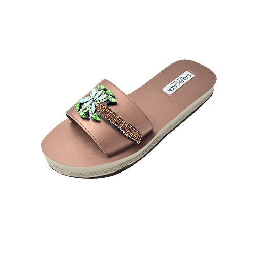 Palm Tree Ex - Waterproof Espadrille Flat