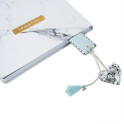 Chelsea Crystal - Personalized Bookmark