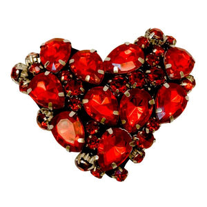 Red Heart- Kids Hair Pin