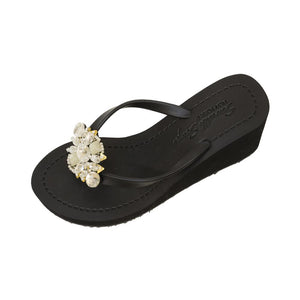 Mulberry - Women's High Wedge