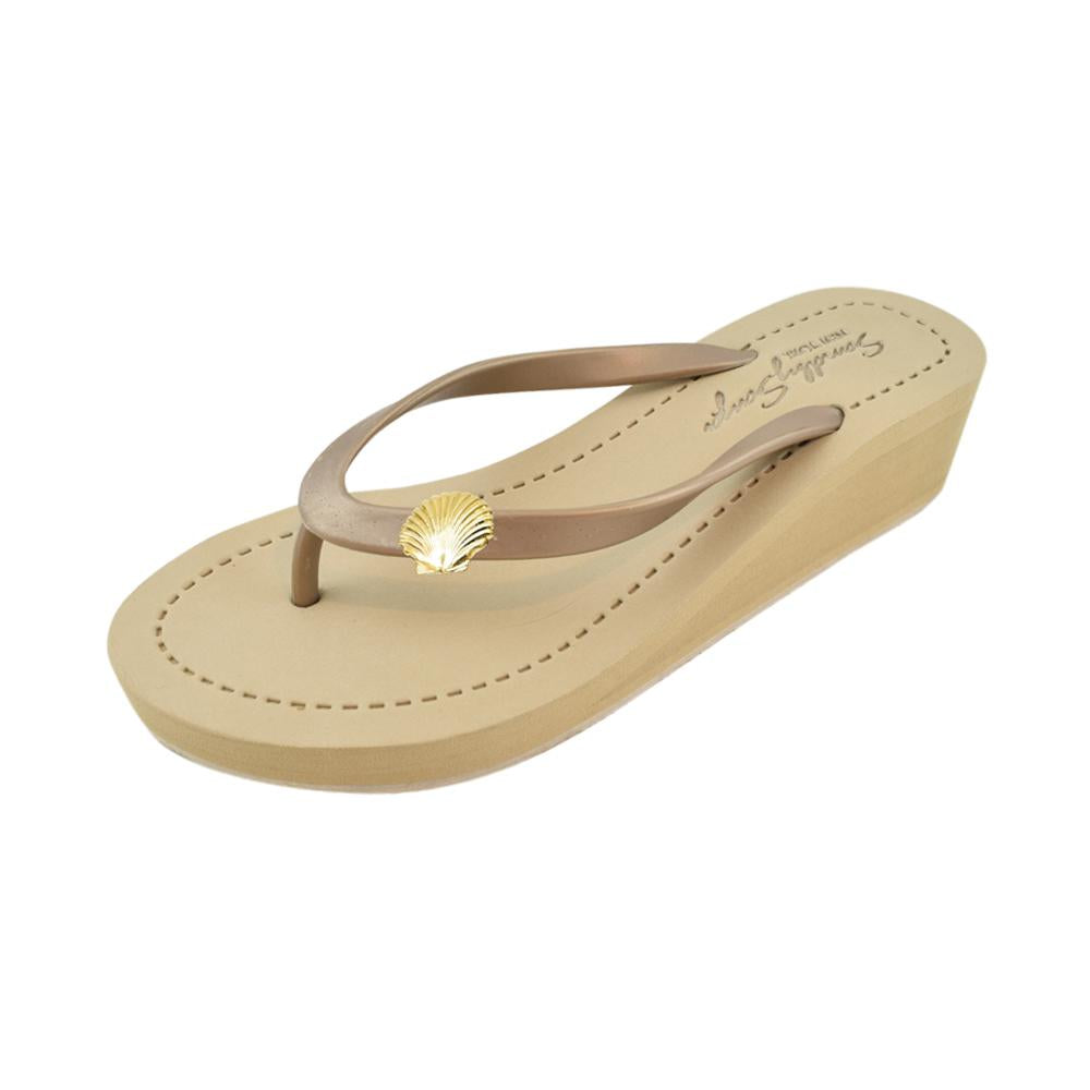 Gold Shell - Women's Mid Wedge