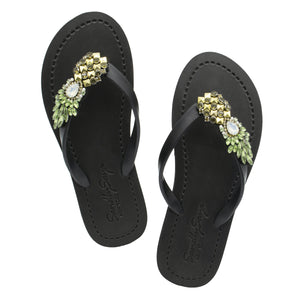 Pineapple - Women's Flat Sandal-Japan Stock