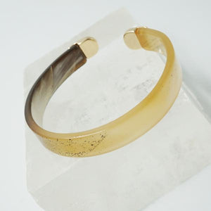 Tortoise and Gold Bangle